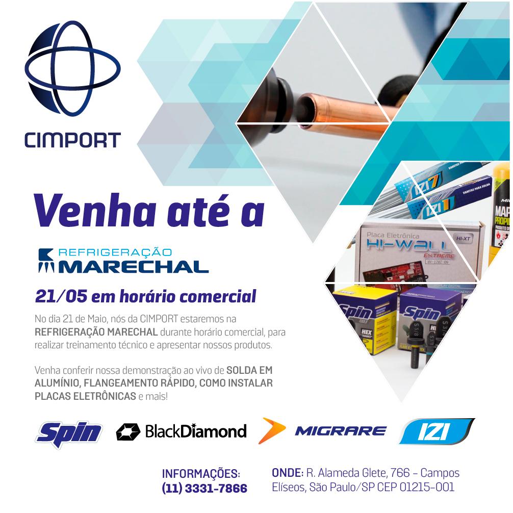 refrigeração marechal cimport evento
