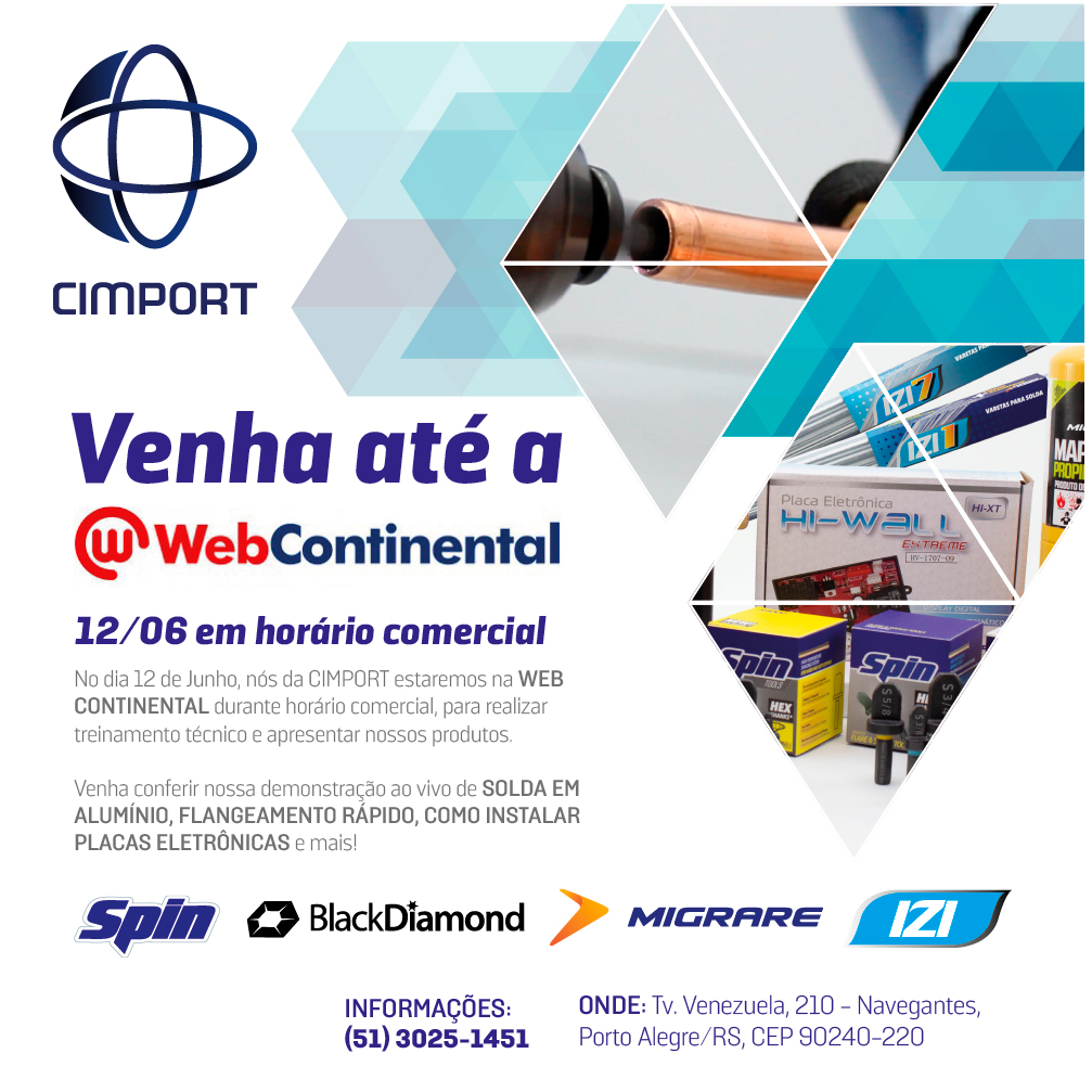webcontinental cimport evento