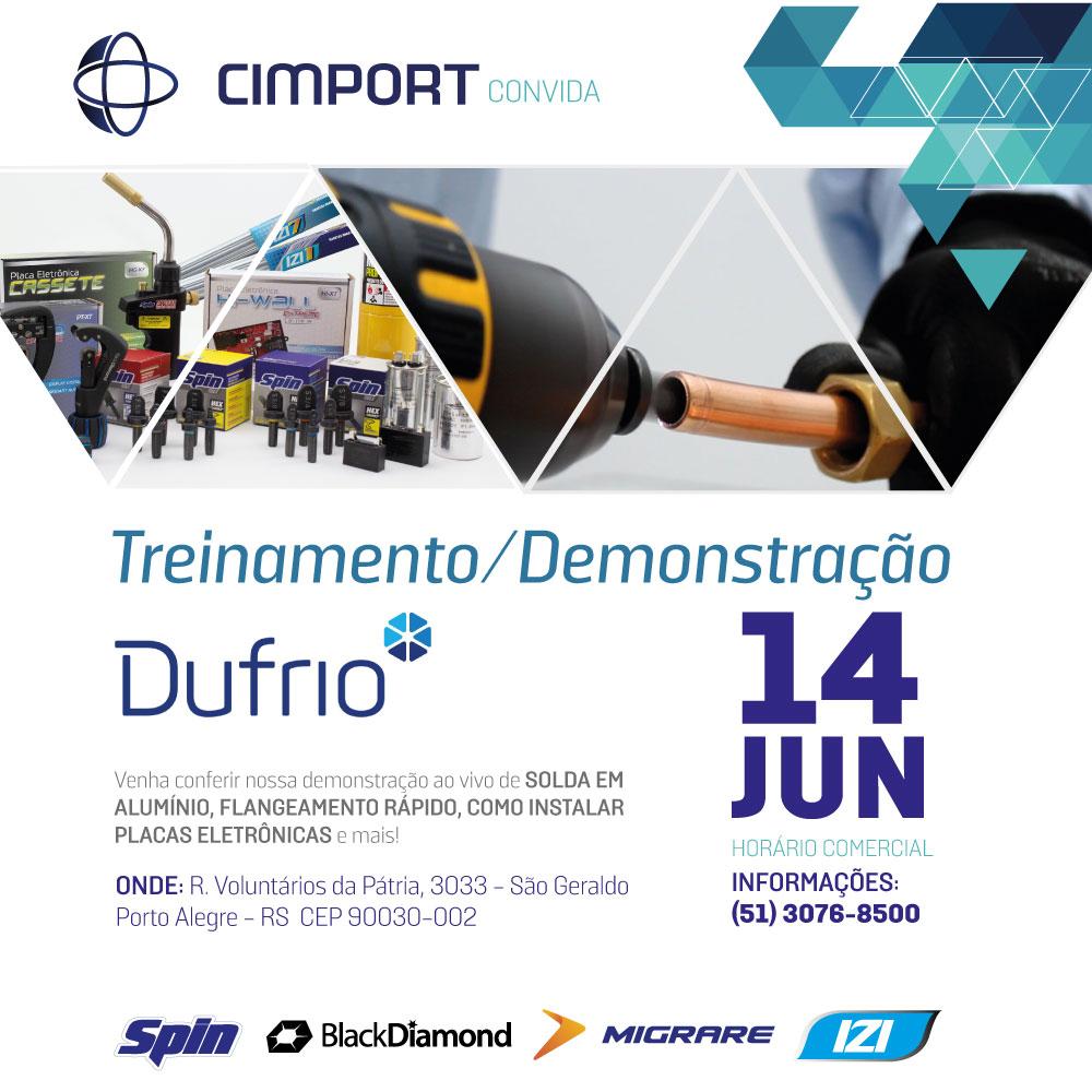Dufrio Cimport evento