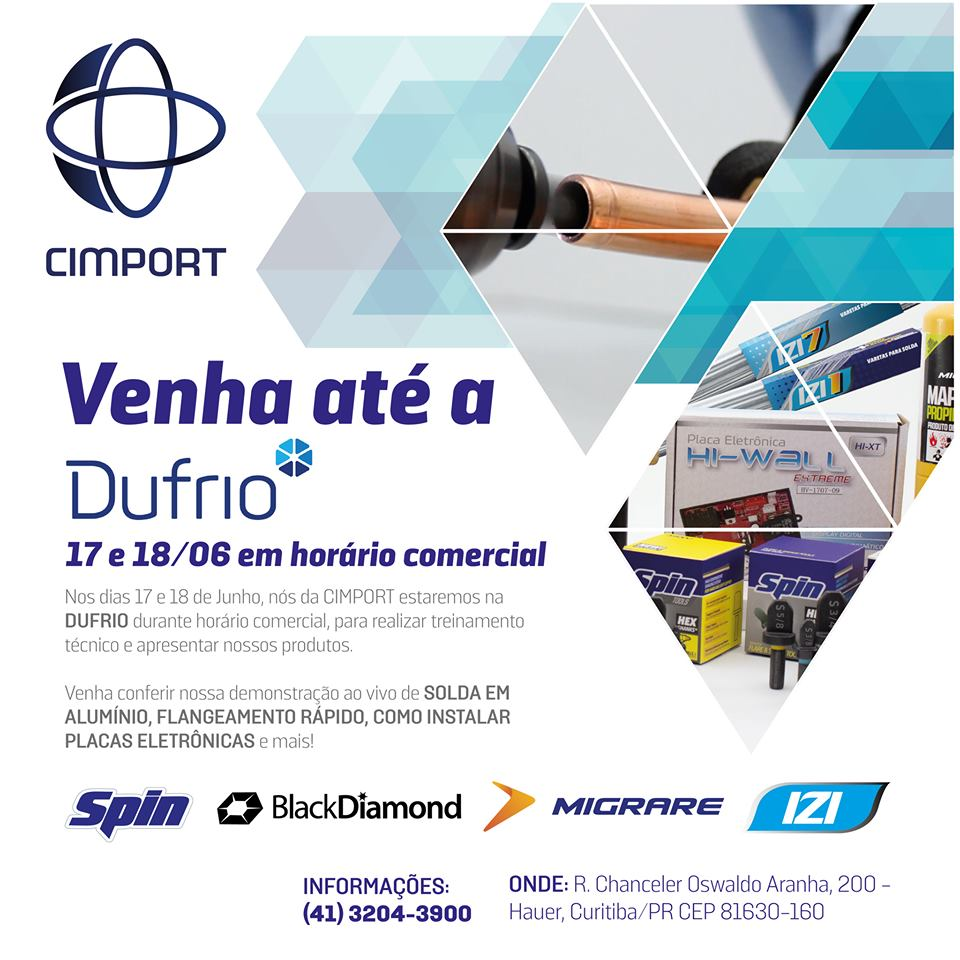 dufrio cimport evento