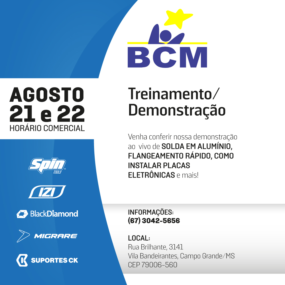 BCM cimport eventos campo grande