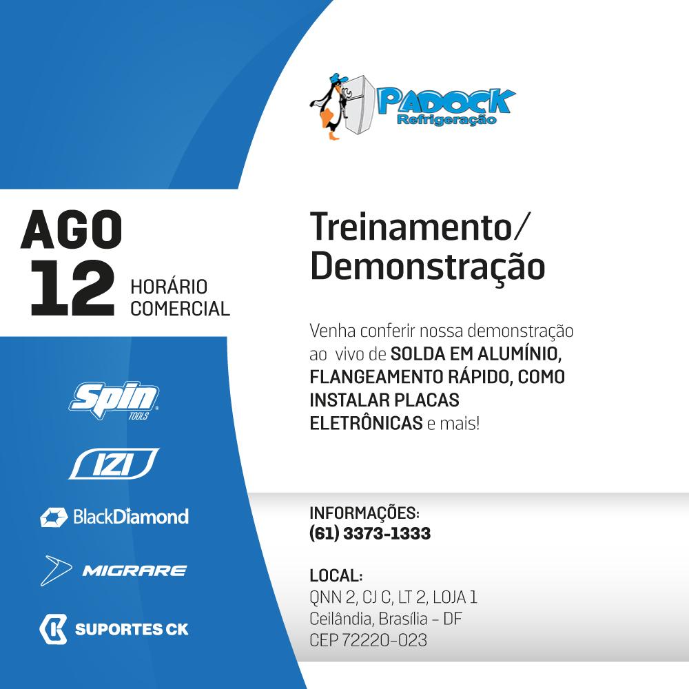 padock refrigeracao cimport evento brasilia