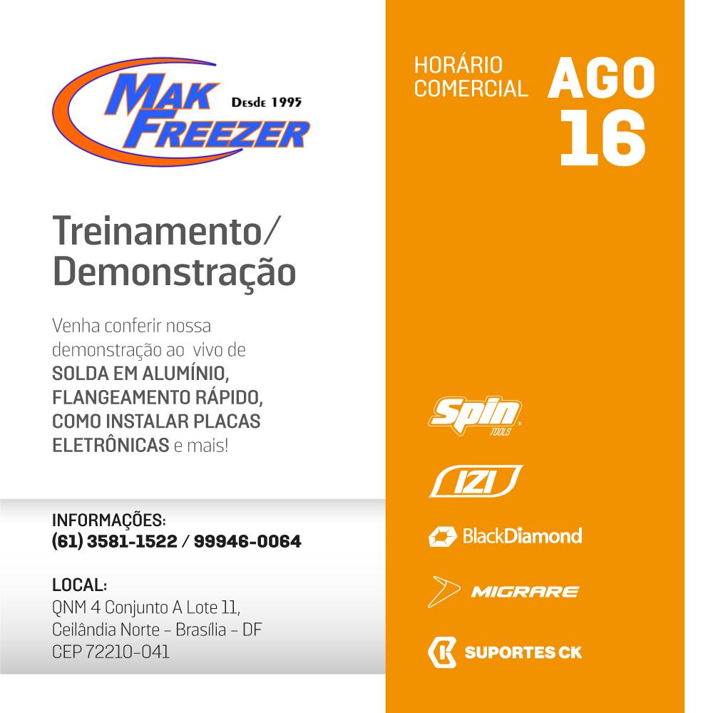 mak freezer brasilia cimport evento