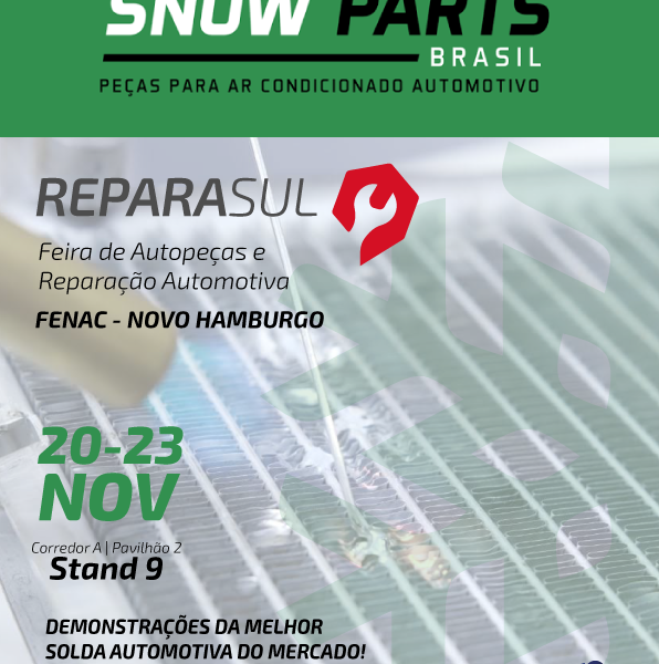 Reparasul – Stand da SNOW PARTS do Brasil